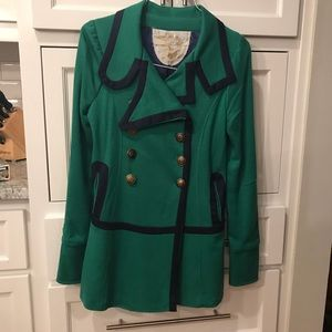 Jackets & Blazers - Green pea coat